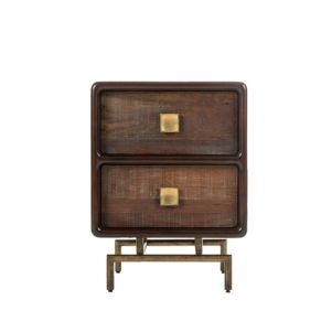 Thomas Bina Leonardo Side Table - 2 Drawer
