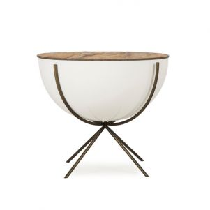 "Thomas Bina Danica Side Table - 24"" Bowl"