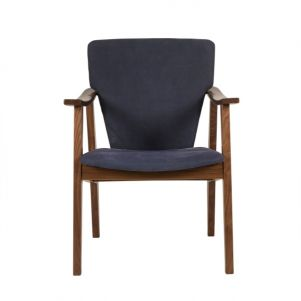 Thomas Bina Isabella Chair - Blue Canvas