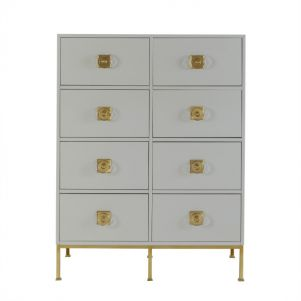 Boyd Formal 8 Drawer Chest - Putty