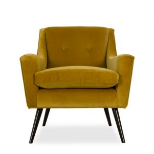 Kelly Hoppen Marlow Occasional Chair - Vadit Lemon