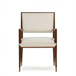 Boyd Reform Arm Chair - Rosewood / Misha Cream