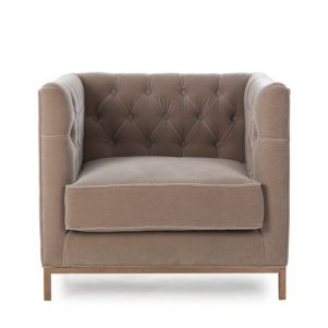 Kelly Hoppen Vinci Tufted Occasional Chair - Vic Stone