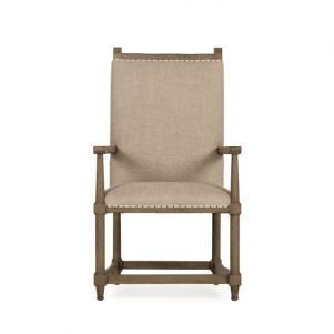 Maison 55 Wine Makers Arm Chair - Textured Linen