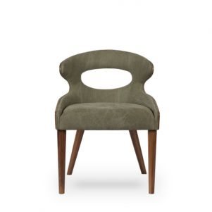 Thomas Bina Tatiana Chair - Green Canvas