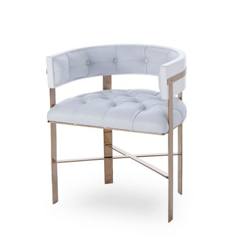 Art Dining Chair Tufted