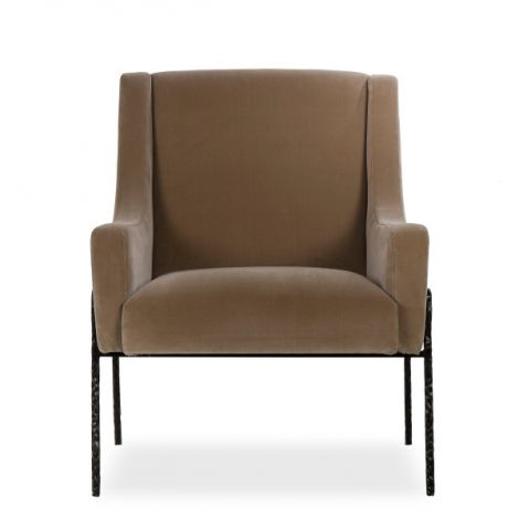 Kelly Hoppen Bailey Occasional Chair - Vadit Mushroom