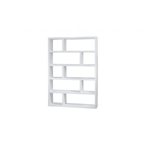 Dublin High Pure White (Matte) Shelving Unit