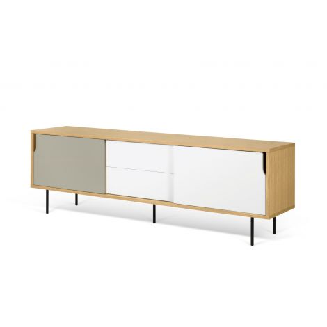 Dann 201 with Metalic Legs Sideboard