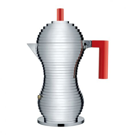 Red Pulcina Espresso Maker - Large