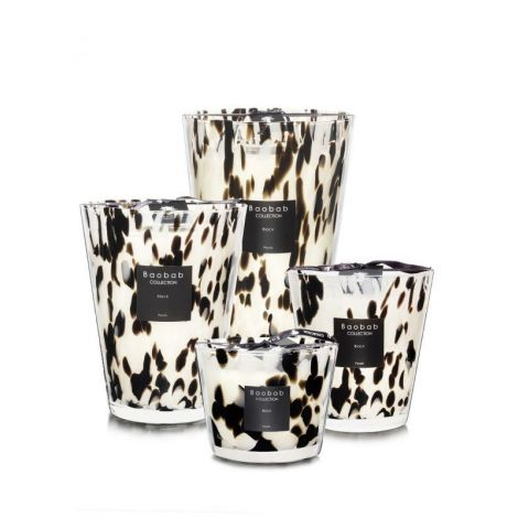 Black Pearls Scented Candles
