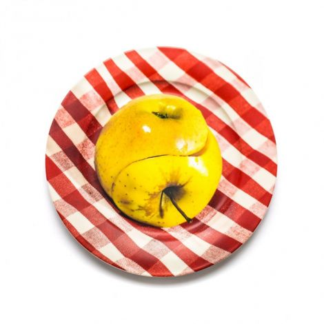 Porcelain Plate Apple