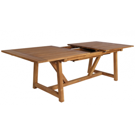 George Teak Extension Table