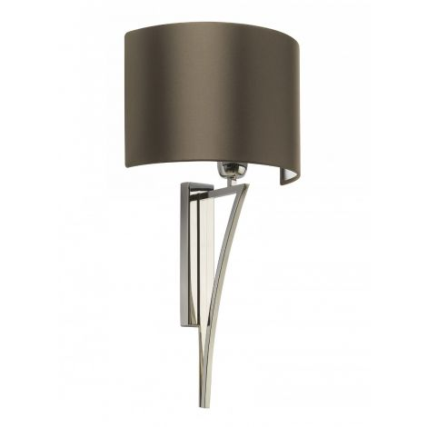 Yves Nickel Wall Light